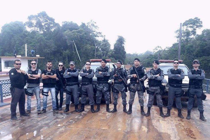 Forças de segurança intensificam o combate a criminalidade em Colniza