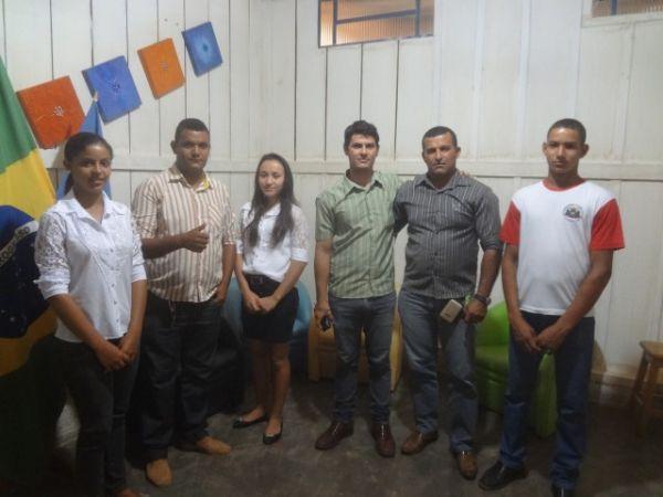 Câmara de Vereadores recebe a visita dos alunos do Colégio Bernardino Gomes da Luz