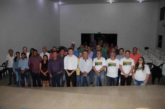 Equipe da Aprosoja e Senador José Medeiros visitam Colniza