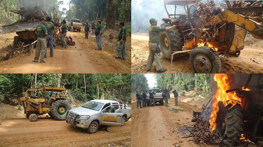 Governo planeja mudar regras para destruição de equipamentos apreendidos pelo Ibama