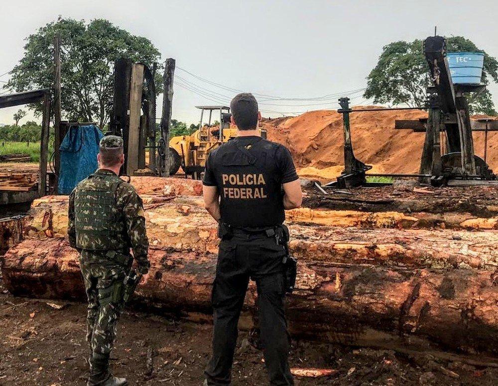 Madeireiros e indígenas são presos em operação da Polícia Federal no interior