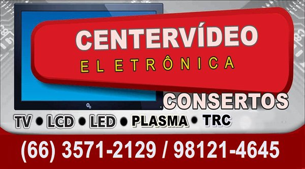CENTER VÍDEO COMÉRCIO ELETRÔNICO EM COLNIZA-MT