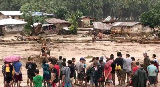 Tempestade tropical mata mais de 100 pessoas nas Filipinas