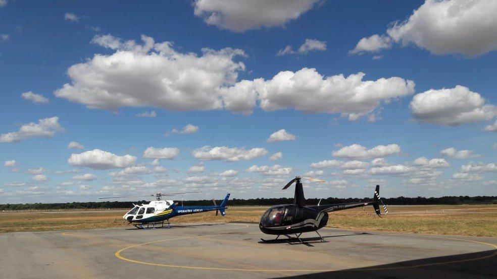Colniza: Helicóptero usado para pulverização de agrotóxico na Floresta Amazônica em MT está apreendido