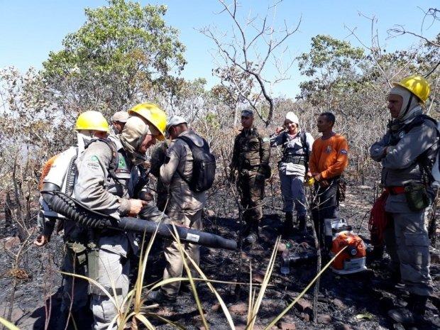 Foco de incêndio atinge o Parque Estadual e atração turística é fechada