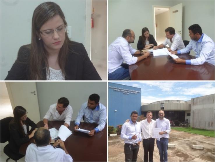 Vereadores de Colniza acionam Ministério Público em busca de melhorias pelos serviços prestado pelas operadoras OI e Tim