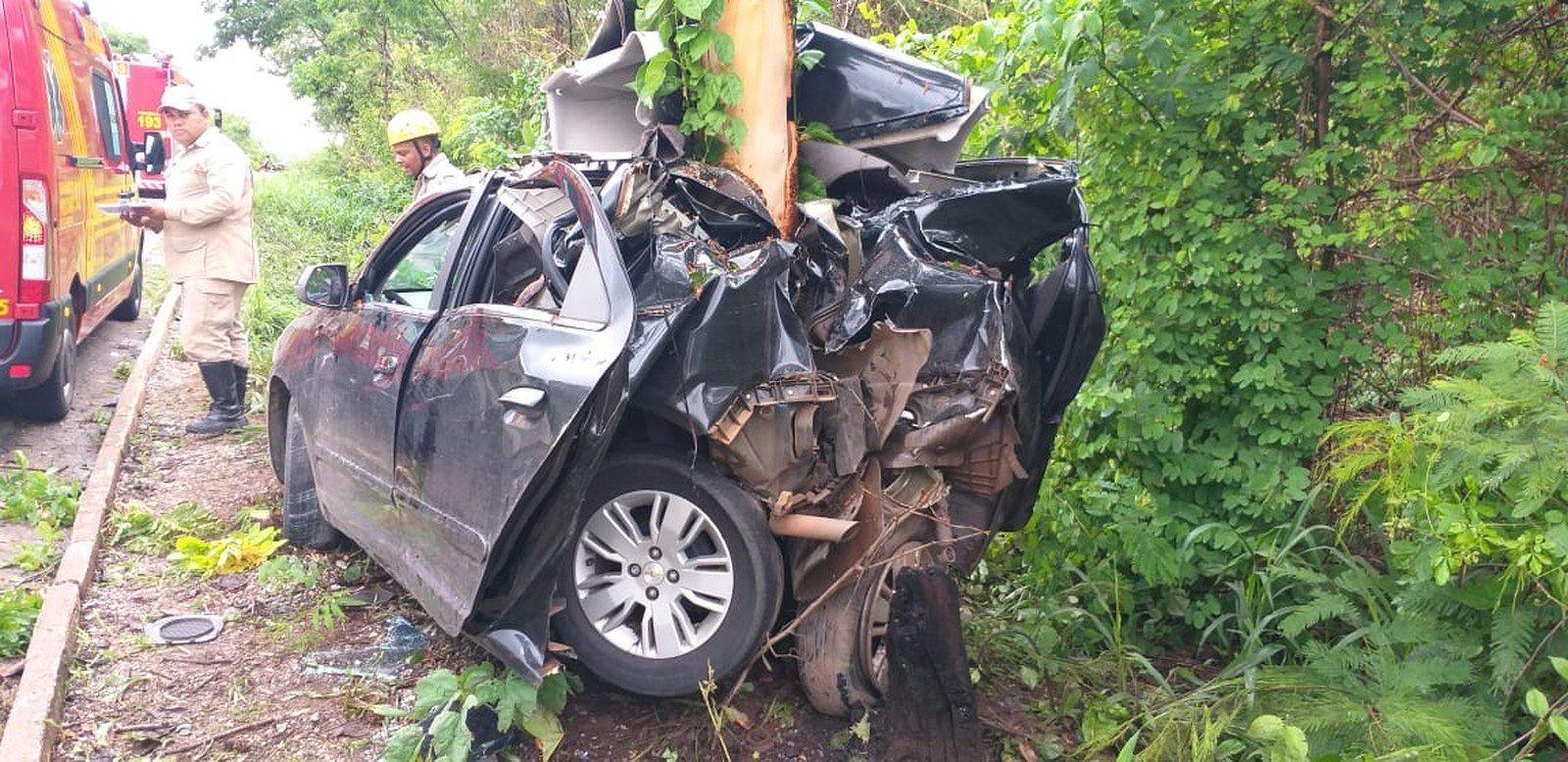Feriado prolongado tem 23 acidentes com 2 mortes nas rodovias federais em MT