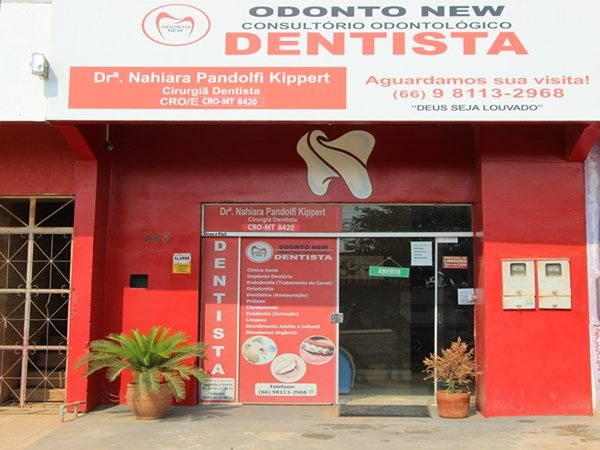 Odonto New consultório odontológico em Colniza