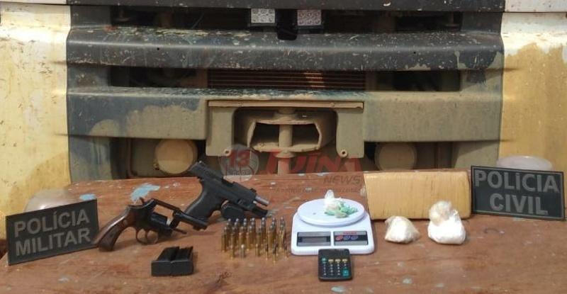 Forças de segurança realizam operação em distrito de Colniza e prende 06 pessoas envolvidas em diversos crimes
