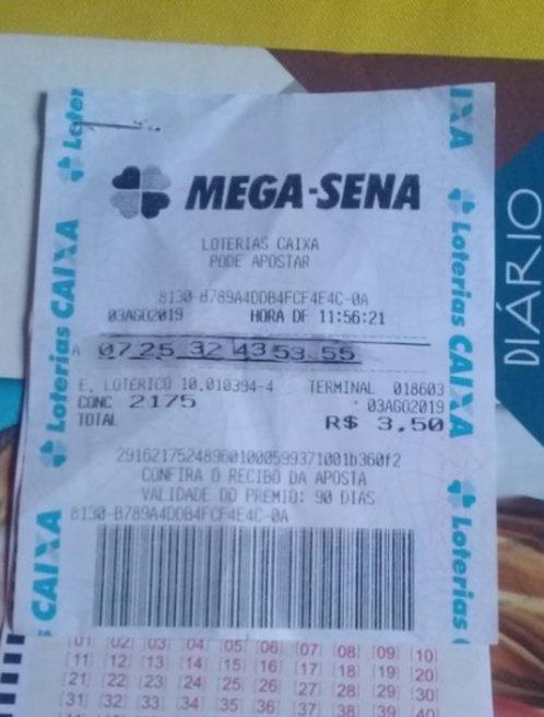Mulher falsifica bilhete e tenta retirar prêmio da Mega em lotérica de MT