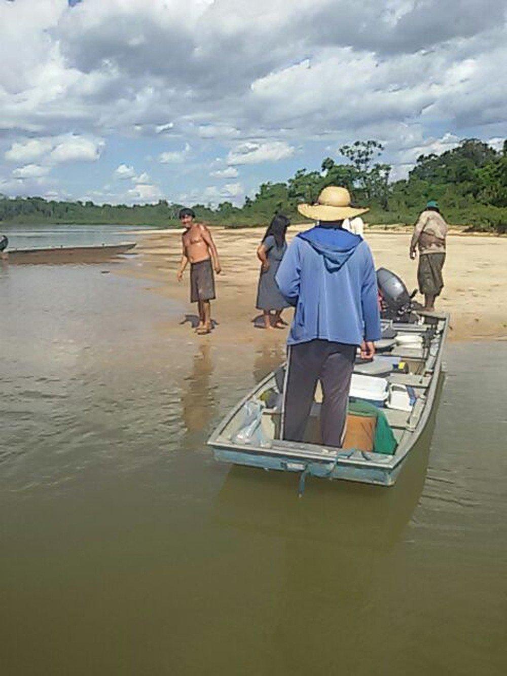 Ibama flagra pesca ilegal envolvendo índios e turistas de SP em área indígena em MT