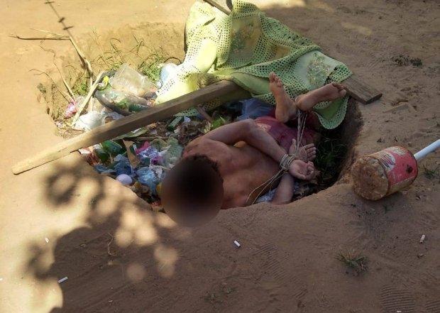 PJC resgata homem que foi torturado e obrigado a beber água sanitária