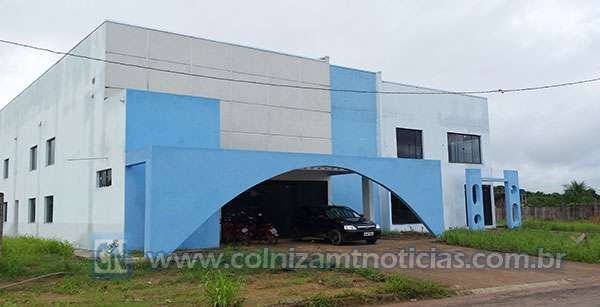 vereador cobra construção da sede própria da prefeitura de Colniza