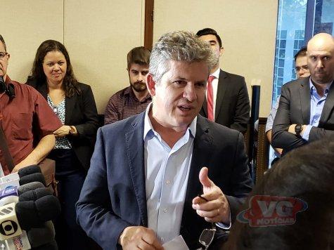 Mauro estuda seguro-defeso aos pescadores de MT caso transporte zero seja aprovado