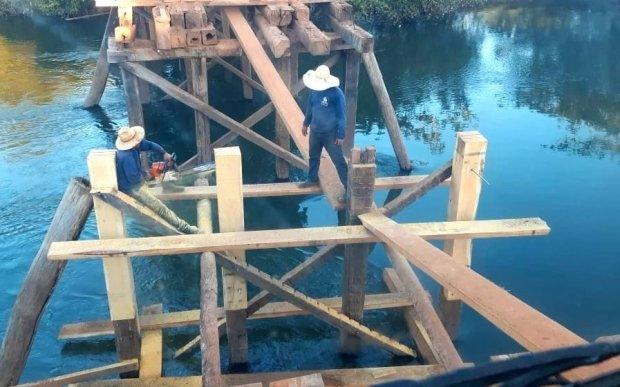 Governo firma convênio com a prefeitura de Colniza, Nova Monte Verde, Nova Mutum e Nova Ubiratã para obras e melhorias de pontes em MT