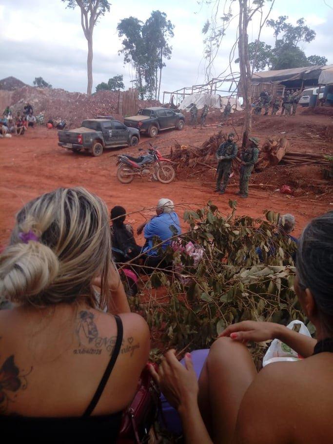 Polícia Federal fecha garimpo ilegal em Aripuanã