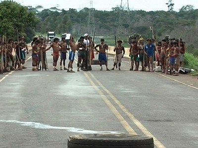 Índios devem trancar BR-364, entre Campo Novo e Brasnorte nesta quinta-feira