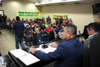 Nomeação de aprovados em concurso da segurança é debatida em audiência pública