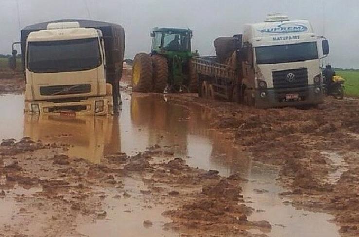 Nova lei do Fethab promete amenizar os problemas das estradas em MT
