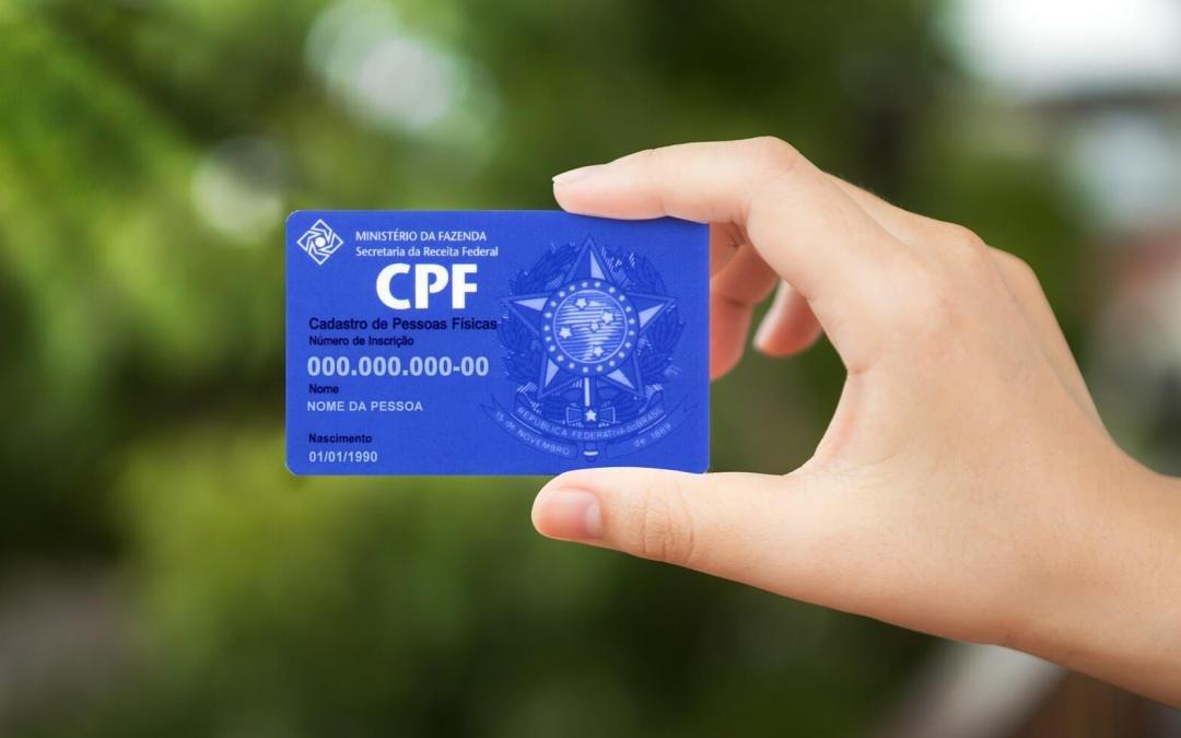 Órgãos federais passam a aceitar CPF como documento de identificação único