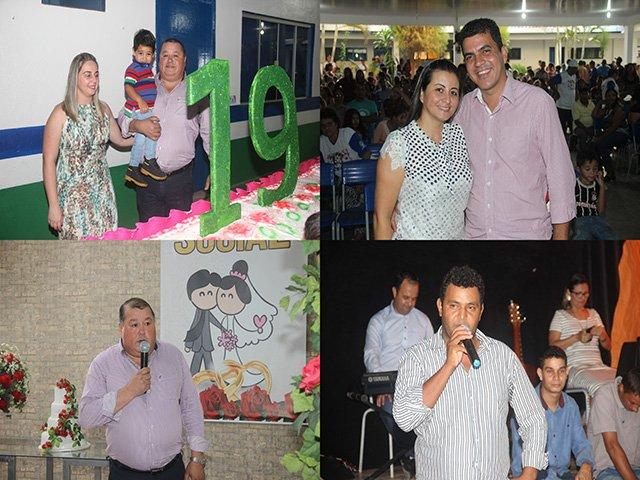 Prefeitura de Colniza, realiza festa em comemoração aos 19 anos de emancipação