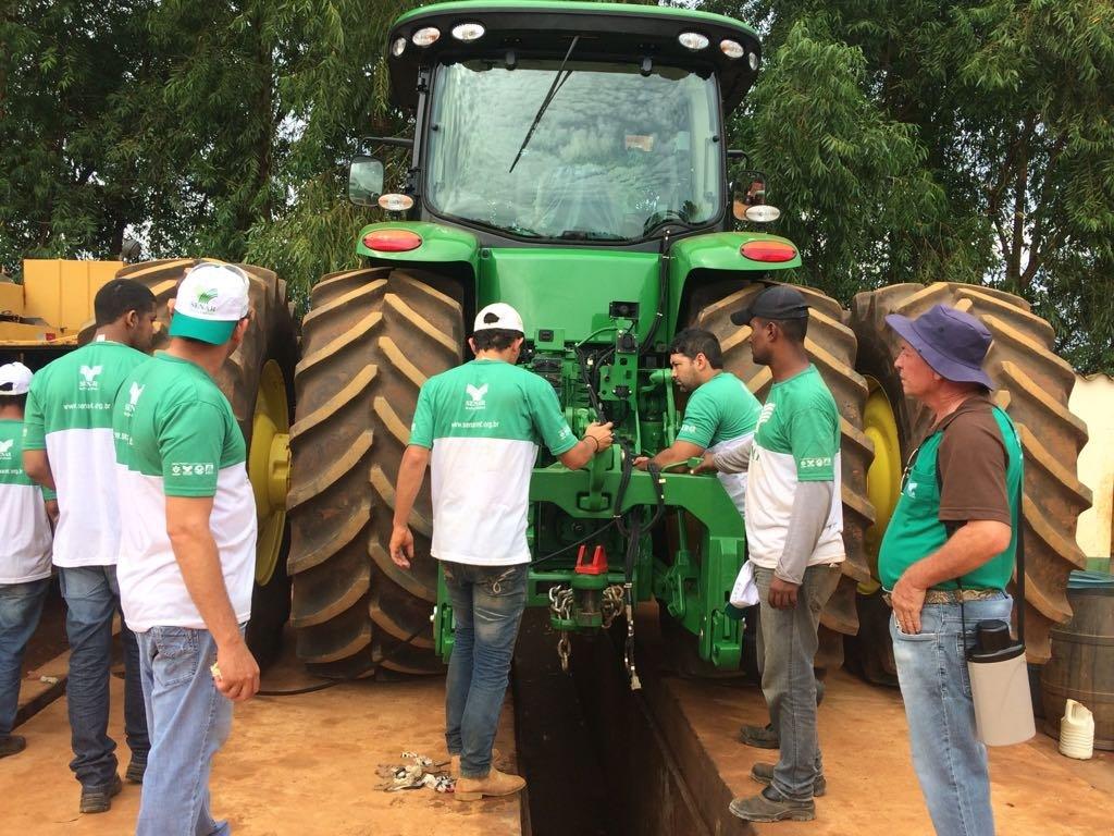 Sindicato Rural de Colniza oferece Curso de Operação e Manutenção de Tratores Agrícolas