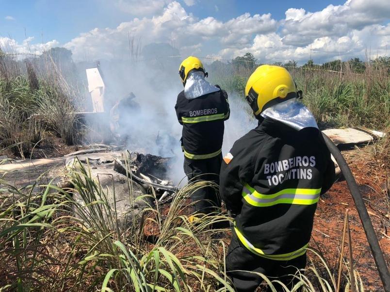 Acidente de avião mata quatro jogadores e o presidente do Palmas