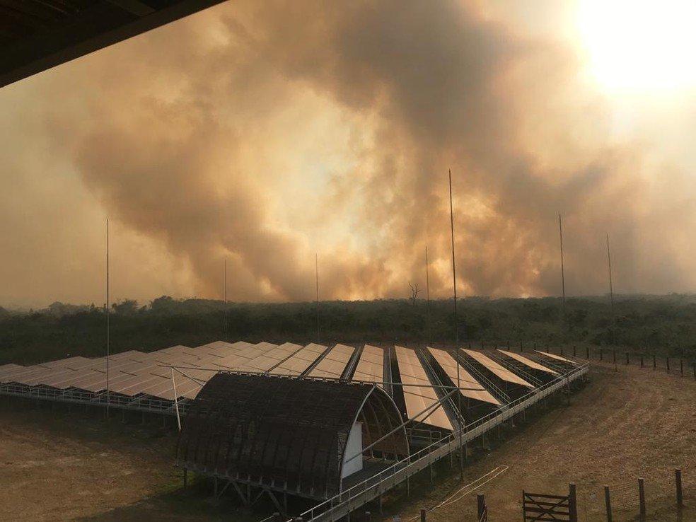 Colniza-MT: Com mais focos de queimadas no país, MT já aplicou mais de R$ 14 milhões em multas este ano
