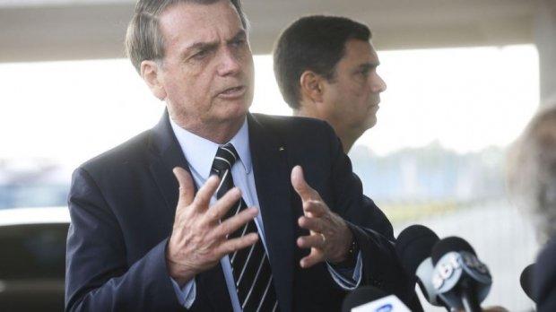 """""""Governadores do Nordeste querem a divisão do País"""", afirma Bolsonaro"""