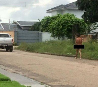 """Homem deixa roupa """"penhorada"""" em bar e anda nu por cidade de MT"""