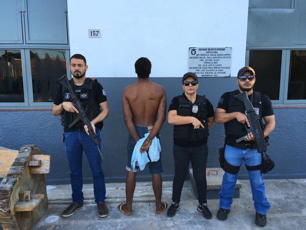 Suspeito de matar dono de mercearia que se recusou a vender fiado é preso após testemunha reconhecê-lo em Aripuanã